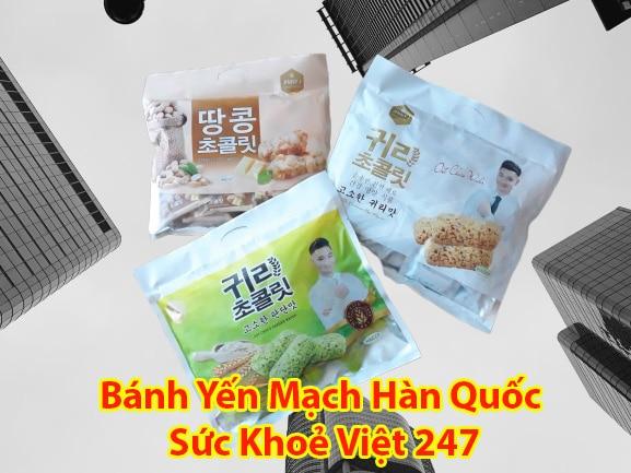 Bánh xốp lúa mạch Hàn Quốc