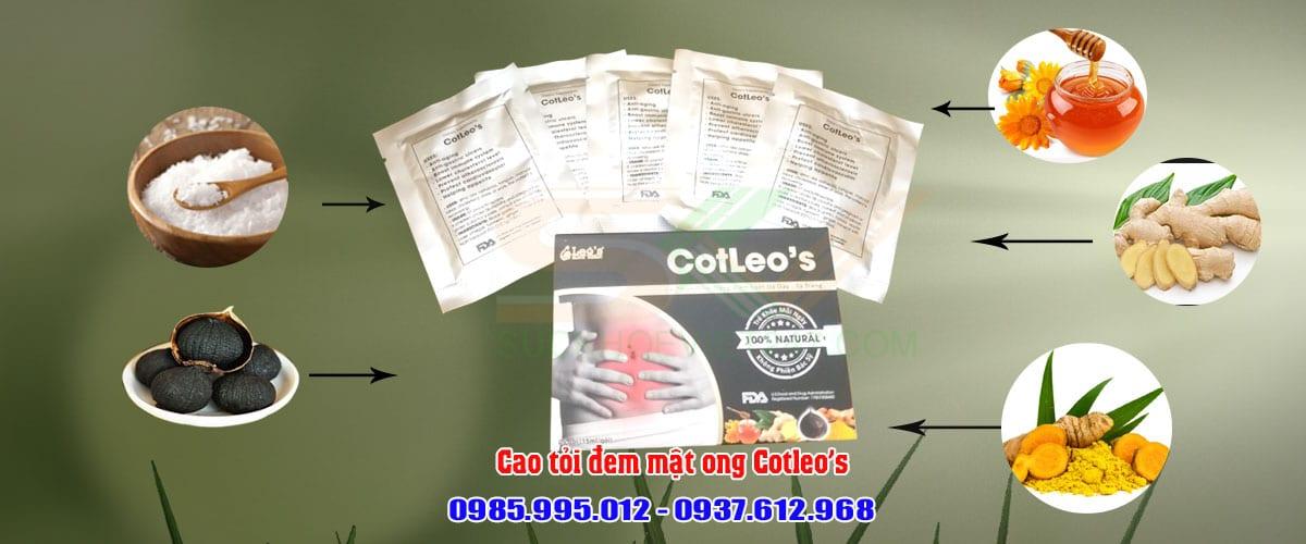 Các thành phần cao tỏi đen cotleo's
