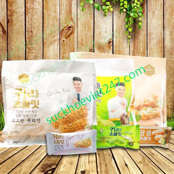 Combo 3 gói bánh yến mạch