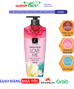 Dầu gội Elastine hương nước hoa Love Me 600ml