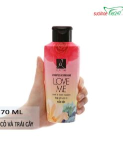 Hưỡng Dẫn Sử Dụng Dầu gội Elastine hương nước hoa Love Me 170ml