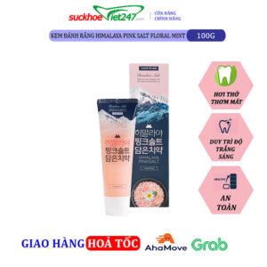KĐR Bamboo Himalaya Pink Salt Floral Mint 100g