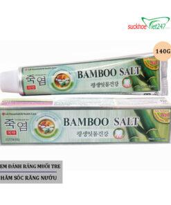 Kem Đánh Răng Muối Tre Bamboo Salt 140g
