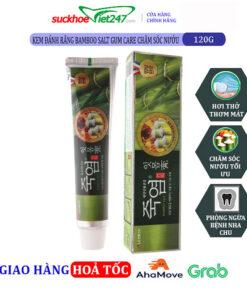 Kem Đánh Răng Bamboo Salt Gum Care Chăm sóc nướu 120g
