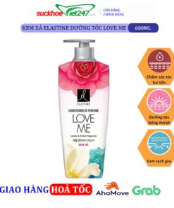 Kem xả Elastine dưỡng tóc Love Me 600ml