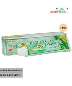 Mô Tả Kem Đánh Răng Muối Tre Bamboo Salt 140g