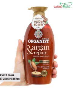 Mô Tả Dụng Kem xả Organist Tinh dầu Morocco Argan 500ml