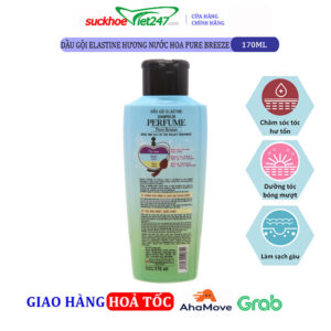 Dầu gội Elastine hương nước hoa Pure Breeze 170ml