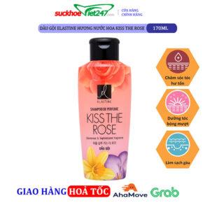 Dầu gội Elastine hương nước hoa Kiss The Rose 170ml