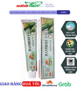 Kem Đánh Răng Bamboo Salt 140g