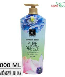 Dầu gội Elastine hương nước hoa Pure Breeze 1000ml