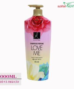 Dầu gội Elastine hương nước hoa Love Me 1000ml