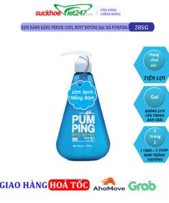 Kem Đánh Răng Perioe Cool Mint Hương Bạc Hà Pumping 285g