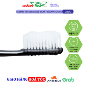 Kem Đánh Răng Perioe Herb Hương Thảo Dược Pumping 285g