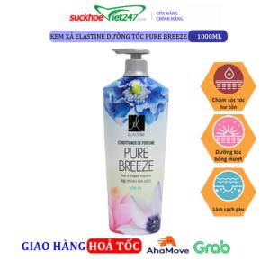 Kem xả Elastine dưỡng tóc Pure Breeze 1000ml