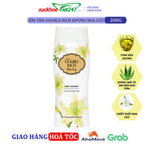 Sữa tắm Double Rich Hoa Lily 200g