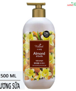 Sữa tắm On The Body Natural Almond vanilla 500g