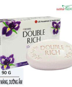 Xà bông Double Rich Hương Hoa IRis 90g