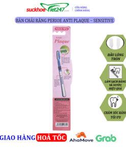 Bàn Chải Răng Perioe Anti Plaque – Sensitive
