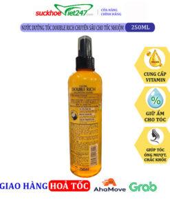 Nước dưỡng tóc Double Rich chuyên sâu cho tóc nhuộm 250ml