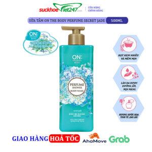 Sữa tắm On The Body Perfume Secret Jade 500g