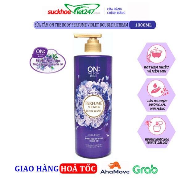 Sữa tắm OTB Perfume Violet Dream 1000g- hương nước hoa quyến rũ